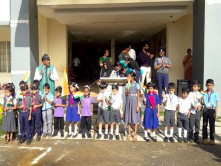 73 Independence Day was celebrated in the school campus with great pride. The Manager, CEO, Staff, Parents and students actively participated in the programme